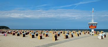 Travemunde-Strand Stockbild