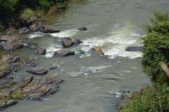 Traversée de la rivière Photos libres de droits