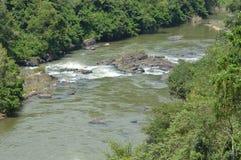 Traversée de la rivière Photographie stock