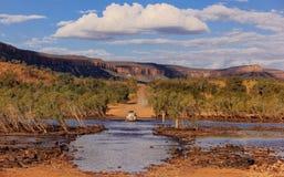 Traversée de la rivière de Pentecôte Image stock