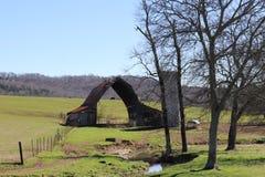 Travers de la grange photos libres de droits