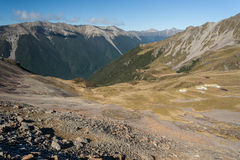 Travers valley - Nelson Lakes Royalty Free Stock Photo