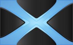 Traversa blu Fotografie Stock