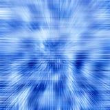 Traversa blu Fotografia Stock