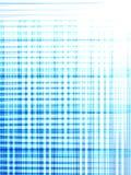 Traversa blu di cris Immagini Stock