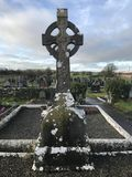 Traversa celtica antica Fotografia Stock Libera da Diritti