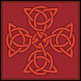 Traversa celtica del nodo Fotografie Stock Libere da Diritti