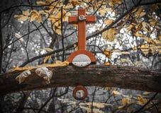 Traversa cristiana Fotografia Stock Libera da Diritti