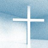 Traversa cristiana Fotografia Stock