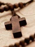 Traversa del rosario Fotografia Stock