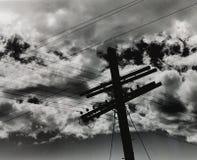 Traversa della tempesta Fotografie Stock