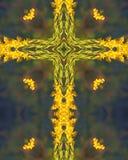 Traversa gialla carica Fotografie Stock