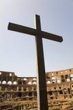 Traversa nel Colosseo Immagini Stock