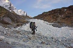 Traversata del ghiaccio immagini stock libere da diritti