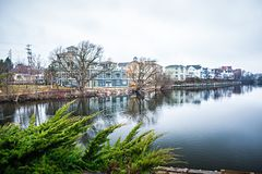 Traverse city michigan scenery around on lake michigan Royalty Free Stock Photos
