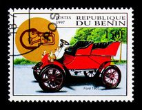 Traversez à gué, 1903 modèles, serie de voitures de vintage, vers 1997 Photographie stock libre de droits