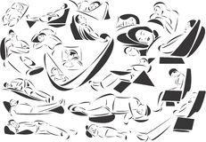 Traversine royalty illustrazione gratis