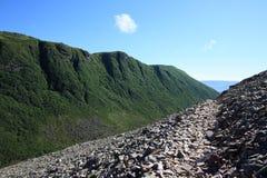 Traversing Trail Through Ferry Gulch Royalty Free Stock Image
