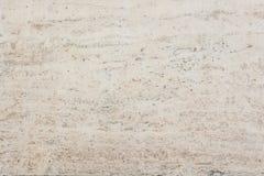 Travertin blanc de texture Photo libre de droits