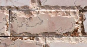 Travertin, Granit, Baumaterialien planen gefärbt Stockfoto