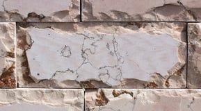 Travertin, Granit, Baumaterialien planen gefärbt Lizenzfreies Stockbild