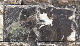 Travertin, Granit, Baumaterialien planen gefärbt Stockfotografie