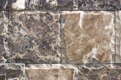 Travertin, Granit, Baumaterialien planen gefärbt Lizenzfreie Stockfotografie