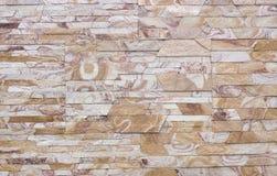 Travertin, Granit, Baumaterialien planen gefärbt Lizenzfreie Stockbilder