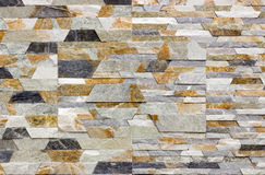 Travertin, Granit, Baumaterialien planen gefärbt Stockbilder