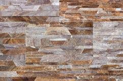 Travertin, Granit, Baumaterialien planen gefärbt Lizenzfreie Stockfotos