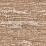 Travertine background natural stone. Seamless square texture, t Stock Photo