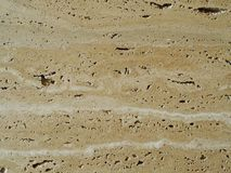 Travertine in close-up Royalty Free Stock Photos