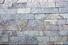 Travertine Decorative bricks texture. Travertine blue Decorative bricks texture Royalty Free Stock Image
