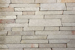 Travertine Decorative bricks texture. Travertine Decorative bricks grey texture Royalty Free Stock Photography