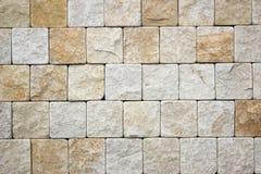 Travertine Decorative bricks texture. Travertine Decorative bricks jrange texture Stock Images