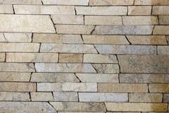 Travertine Decorative bricks texture. Travertine Decorative bricks orange texture Royalty Free Stock Images