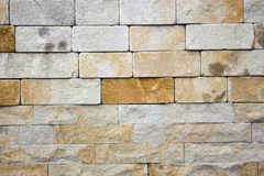 Travertine Decorative bricks texture. Travertine Decorative bricks orange texture Stock Photos