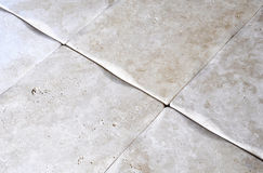 Travertine floor Royalty Free Stock Photos