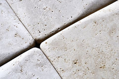 Travertine floor Royalty Free Stock Images