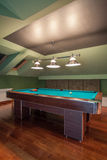 Travertine house - arranged garret Royalty Free Stock Photos