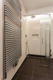 Travertine house - contemporary radiator Royalty Free Stock Photo