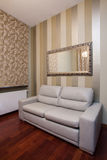Travertine house- Elegant interior Stock Image