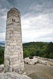 Travertine monument Stock Photography