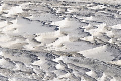 Travertine in pamukkale Royalty Free Stock Photos