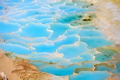 Free Travertine Pools And Terraces In Pamukkale Royalty Free Stock Image - 56593676