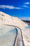 Travertine Pools and Terraces Royalty Free Stock Photos