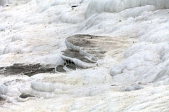 Travertine pools and terraces in Pamukkale Royalty Free Stock Photography