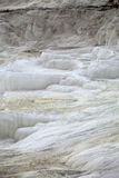 Travertine pools and terraces in Pamukkale Stock Image