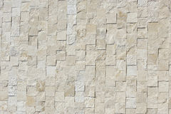 Travertine rock wall. Authentic travertine rock wall, from Italy, made up of blocks Stock Photography