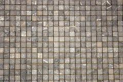 Travertine square colorful mosaic. Travertine square colorful grey  mosaic Royalty Free Stock Photos